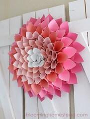 papierová kvetina