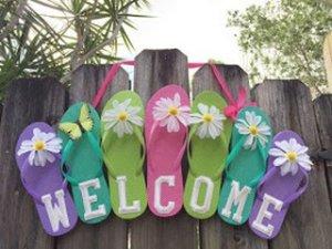 uvítací veniec