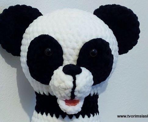 Háčkovaný návod – Panda Amanda