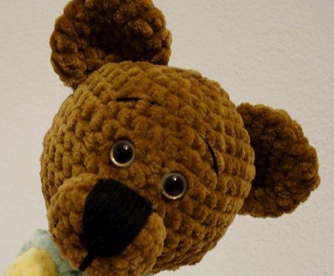 Návod – Háčkovaný medvedík František
